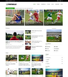 bootstrap template magazine