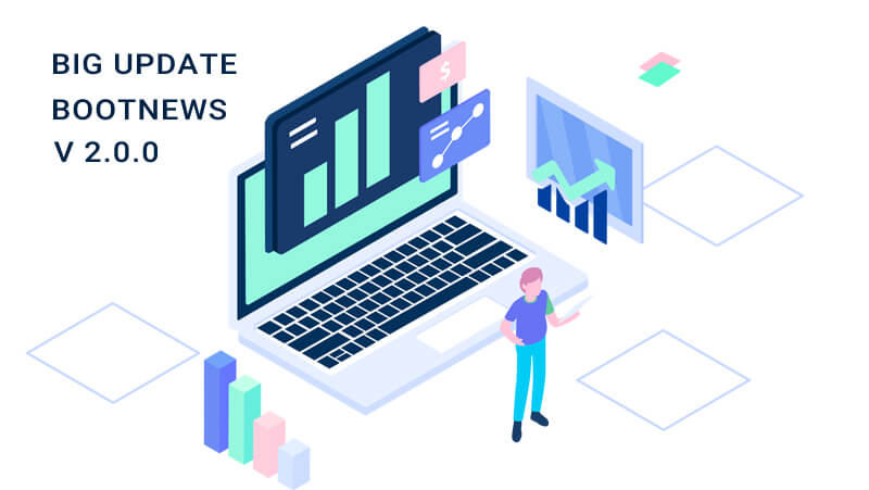 Bootstrap 5 news updated